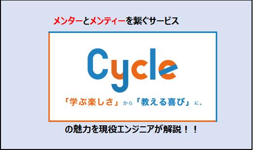 メンター,メンティーを繋ぐCycle